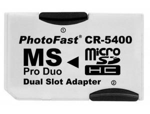 Карта памяти MicroSD 64Gb + Adaptor для PSP