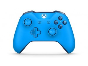 Xbox One S Blue Wireless Controller