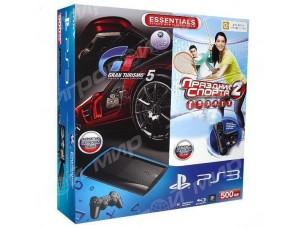 Sony Playstation 3 Super Slim 500 Gb + Move Starter Pack + Игра Gran Turismo 5