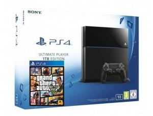 Sony PlayStation 4 1000 GB + Игра GTA 5