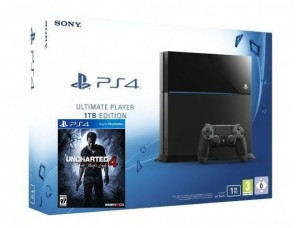Sony PlayStation 4 1000 GB + Игра Uncharted 4