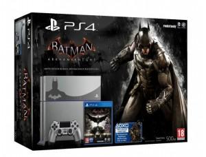 Sony PlayStation 4 500 GB + игра Batman: Arkham Knight Limited Edition