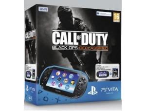 PS Vita Black Wi-Fi + Call of Duty BO Declassified