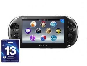 Sony PS Vita Slim Black Wi-Fi + карта памяти на 16 GB + 5 игр