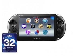 Sony PS Vita Slim Black Wi-Fi + карта памяти на 32 GB + 10 игр