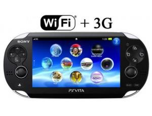 Sony PS Vita Black Wi-Fi + 3G