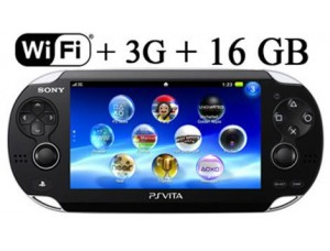 Sony PS Vita Black Wi-Fi + 3G + Карта памяти на 16 GB