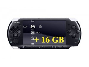 Sony PSP Bright + Карта памяти на 16 GB