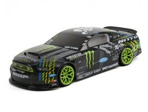 HPI E10 Monster Energy Nitto Tire 2013 Ford Mustang