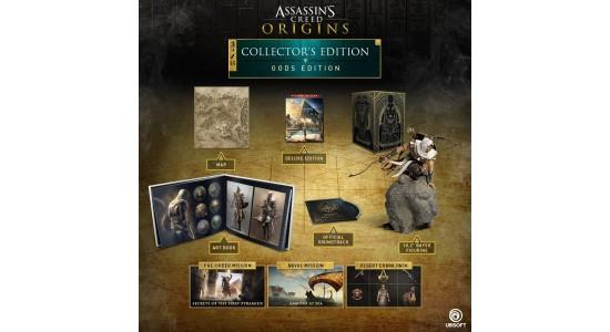 Коллекционное издание Assassin's Creed Origins GODS Collector's Edition