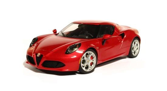 Масштабная модель Alfa Romeo 4C 2013