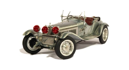 Масштабная модель Alfa Romeo 6C 1750 GS Clear Finish 1930