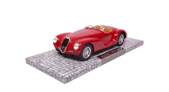Масштабная модель Alfa Romeo 6C 2500 SS Corsa Spider 1939