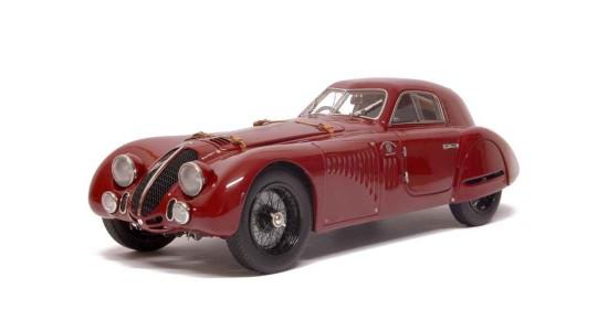Масштабная модель Alfa Romeo 8C 2900B Speciale Touring Coupe 1938