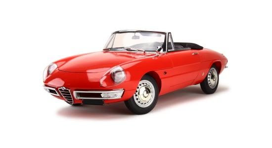 Масштабная модель Alfa Romeo Duetto 1600 Spider 1966