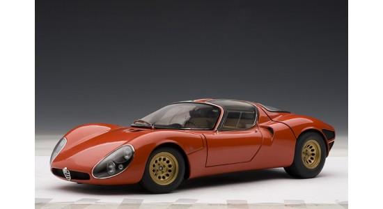 Масштабная модель Alfa Romeo 33 Stradale Prototyper 1967