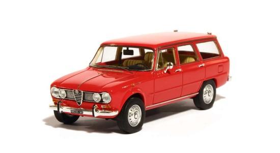 Масштабная модель Alfa Romeo Giulia Super Giardinetta 1974