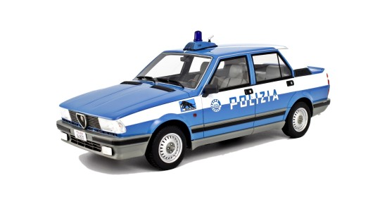 Масштабная модель Alfa Romeo Giulietta Polizia