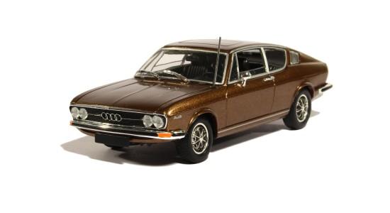 Масштабная модель Audi 100 Coupé 1969