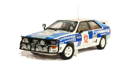 Масштабная модель Audi Quattro A2 Safari Rally 1984