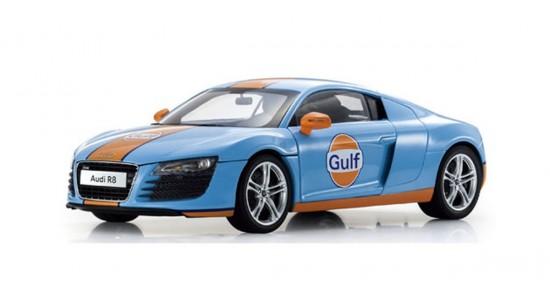 Масштабная модель Audi R8 Gulf