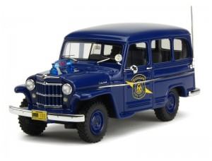 Jeep Willys Station Wagon Police 1954