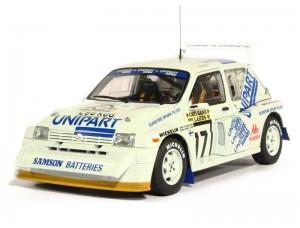 MG Metro 6R4 1000 Lakes Rally 1986 No17 Toivonen