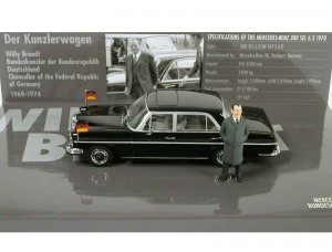 Mercedes 300 SEL 6.3 1970 With Willy Brand