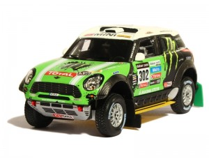 Mini Countryman All4 Dakar 2013