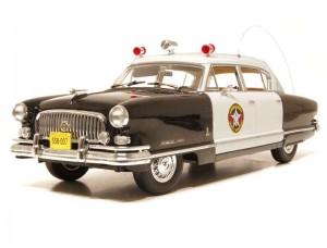 Nash Ambassador Airflyte Police 1952