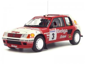 Peugeot 205 T16 Rally Ypres 1985