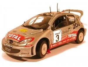 Peugeot 206 WRC Rally Safari 2002