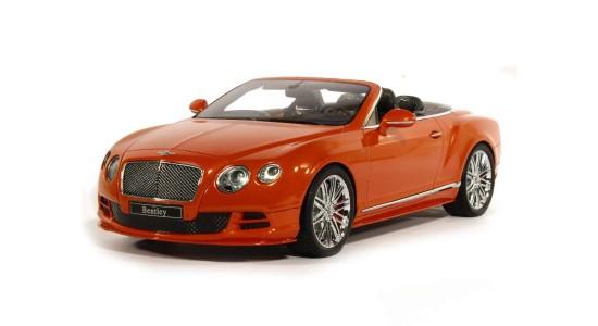 Масштабная модель Bentley Continental GT Speed Cabriolet 2014