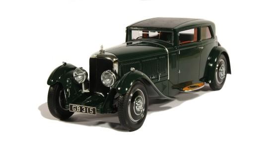 Масштабная модель Bentley Speed Six Corsica Coupé 1930