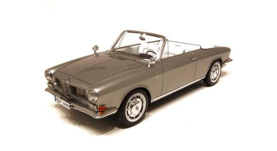 Масштабная модель BMW 3200 Quandt Cabriolet Bertone 1961