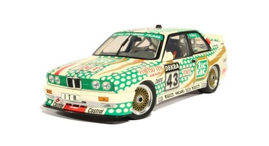 Масштабная модель BMW E30 M3 DTM No43 Berg Tic Tac 1991