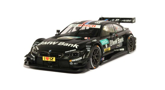 Масштабная модель BMW F82 M4 DTM No9 Spengler 2014
