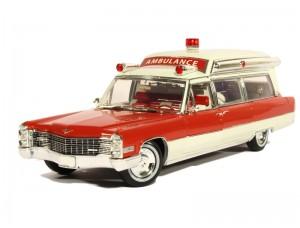 Cadillac S&S 48 High Top Ambulance 1966