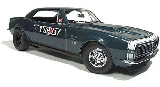 Масштабная модель Chevrolet Camaro RS/SS- Nickey- Drag Version 1967