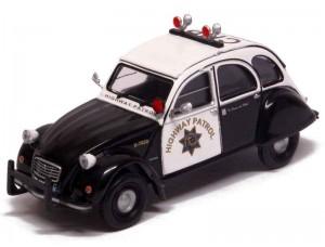 Citroën 2CV Police US Highway Patrol