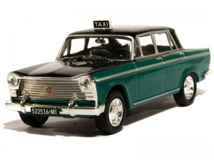 Fiat 1500 Taxi Milan 1963