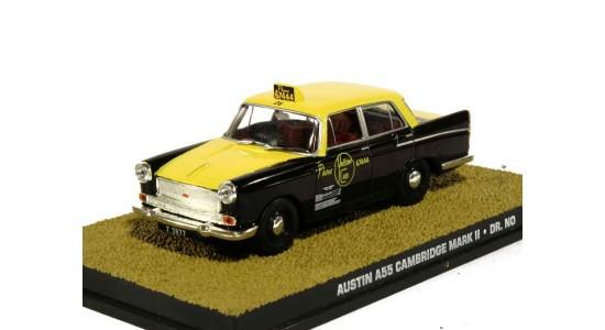 Масштабная модель Austin A55 Cambridge MKII Taxi из фильма Агент 007