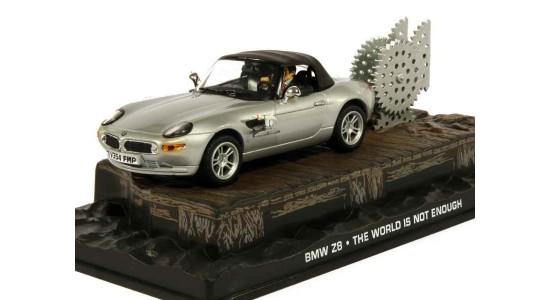 Масштабная модель BMW Z8 из фильма Агент 007