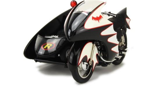 Масштабная модель Batmobile Batcycle Sidecar 1966