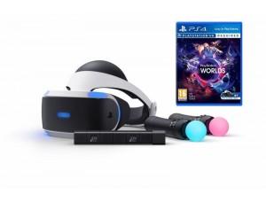 Playstation VR Bundle + Игра VR Worlds