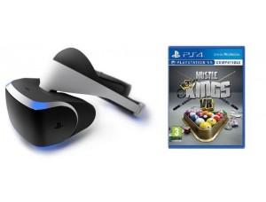 Playstation VR + Игра Hustle Kings VR