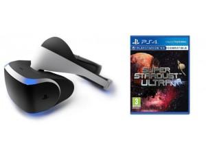 Playstation VR + Игра Super Stardust Ultra VR