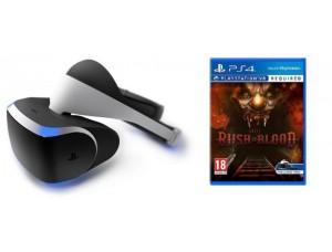 Playstation VR + Игра Until Dawn: Rush Of Blood VR